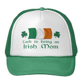 Lucky Irish Mom Trucker Hat