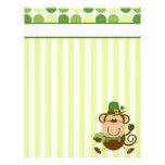 Lucky Irish Monkey Letterhead