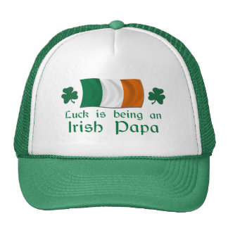 Lucky Irish Papa Trucker Hat