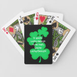 Lucky Irish Playing Cards
