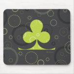 Lucky Irish Shamrock Mousepad