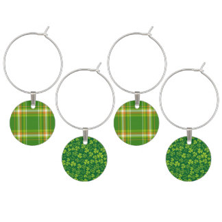 Lucky Irish Wine Charms