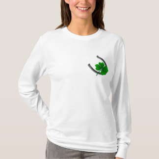 Lucky Irish Women's Shirt St. Patrick's Lady Shirt