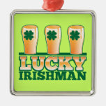 LUCKY IRISHMAN from The Beer Shop Ornament