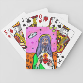 Lucky Jesus Playing Cards
