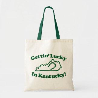 Lucky Kentucky Budget Tote Bag