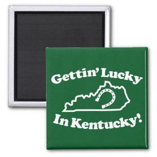 Lucky Kentucky Fridge Magnet