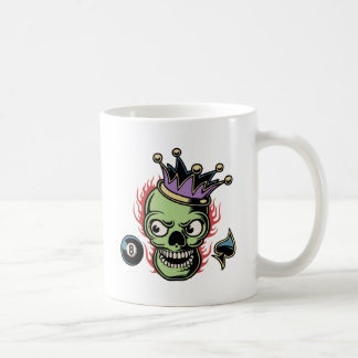 Lucky King Skull Coffee Mug