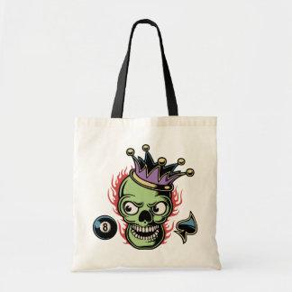 Lucky King Skull Tote Bag