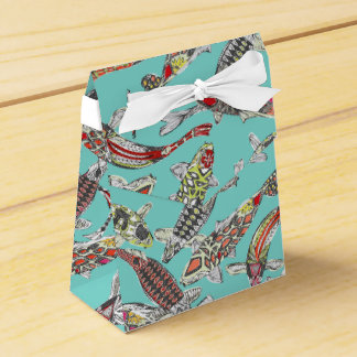 lucky koi favor box