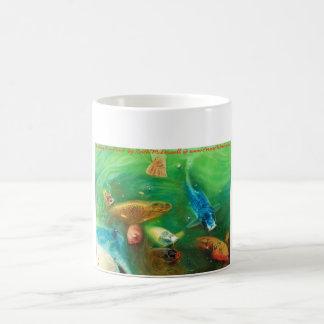 Lucky Koi Pond: www.AriesArtist.com Coffee Mug