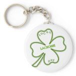 Lucky Lacrosse Day Keychain