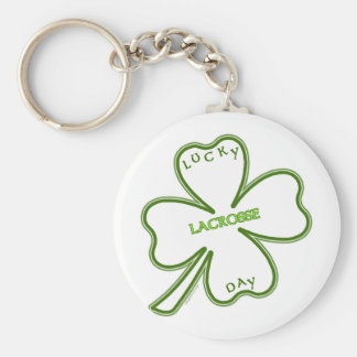 Lucky Lacrosse Day Key Chains