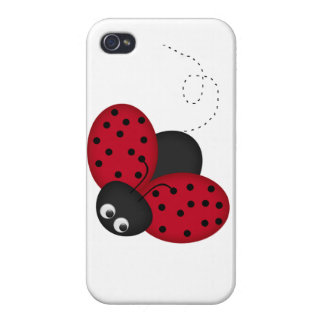 Lucky Lady Bug iPhone hard shell case iPhone 4 Covers