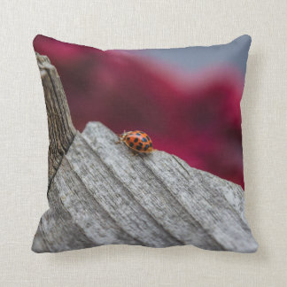 Throw Out Pillows Bed Bugs : Lady Bug Pillows - Decorative & Throw Pillows Zazzle