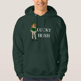 Lucky Lady Leprechaun Hoodie