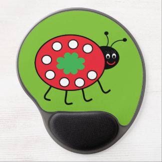Lucky Ladybird  Gel Mousepad Gel Mouse Pad