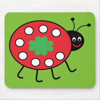 Lucky Ladybird Mousepad Mouse Pad