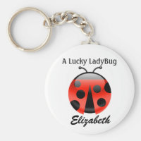Lucky Ladybug Keychain - SRF