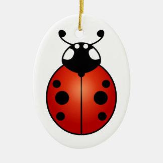 Lucky Ladybug Ladybird Beetle Good Luck Ornament