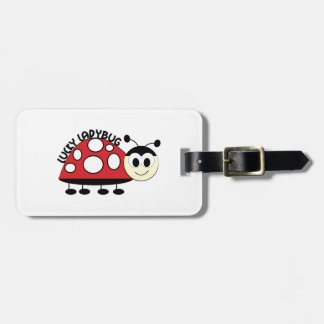 Lucky Ladybut Luggage Tag
