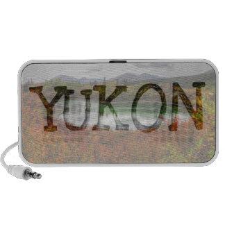 Lucky Lake; Yukon Territory Souvenir iPod Speakers