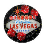Lucky Las Vegas Dart Board
