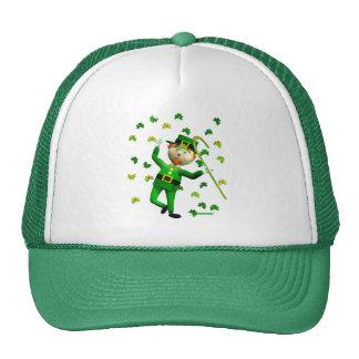 Lucky Leprechaun Dance Trucker Hat