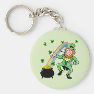 Lucky Leprechaun Keychain