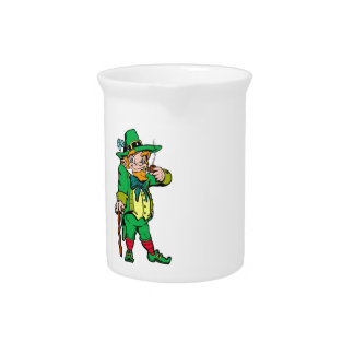 Lucky Leprechaun Pitcher