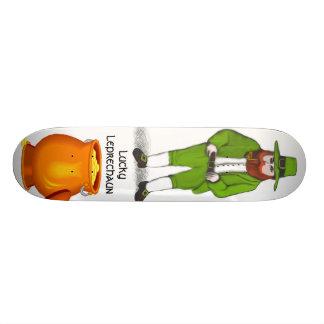 Lucky Leprechaun Skateboard