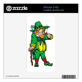 Lucky Leprechaun Skin For The iPhone 4S