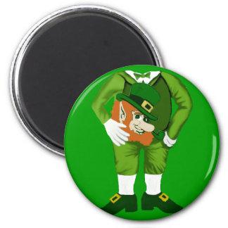 Lucky Leprechaun Suit Magnet