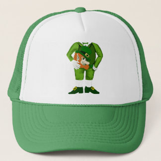 Lucky Leprechaun Suit Trucker Hat