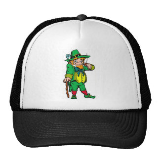 Lucky Leprechaun Trucker Hat