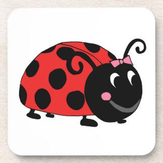 Lucky Little Ladybug Drink Coaster