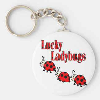 Lucky Little Ladybugs Keychain