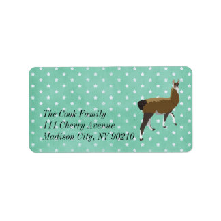 Lucky Llama Stars Label