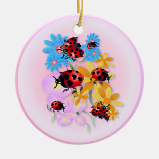 Lucky-Love Ladybugs Ornament