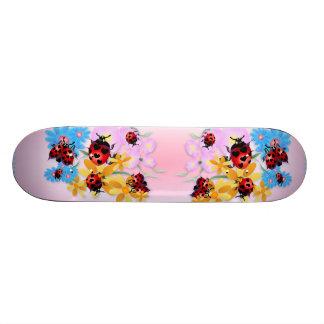 Lucky-Love Ladybugs Skateboard