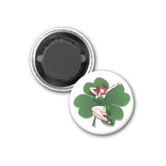Lucky Magnets Lucky St. Patrick's Pinup Gifts