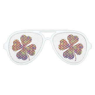 Lucky Man - Colorful Clover Sunglasses