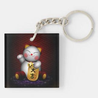 Lucky Maneki Neko Keychains