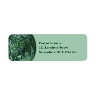 Lucky Marble - Return Address Avery Label