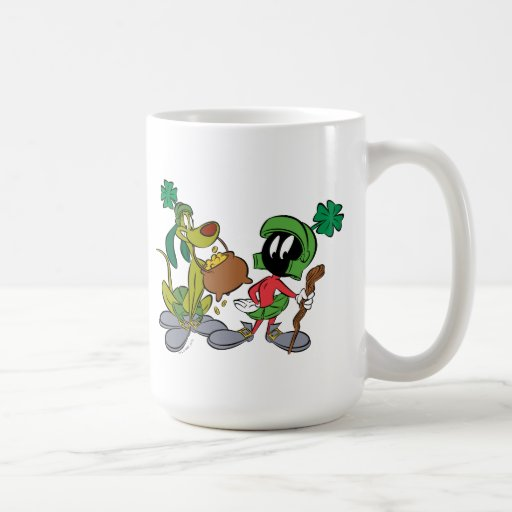 Lucky MARVIN THE MARTIAN™ with K-9 Coffee Mug