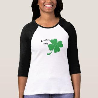 Lucky Me Four Leaf Clover Tshirt
