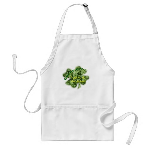 Lucky Me - I get to do the dishes! Adult Apron