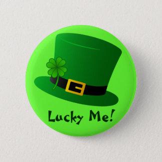 Lucky Me! Pinback Button