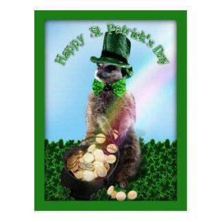 Lucky Meerkat Post Card