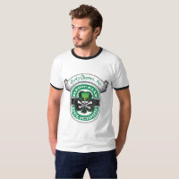 Lucky Mens Charms Ale Ringer T-Shirt